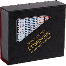Mexican Train Domino Set - Double 18 (DOTS) - Dominoes