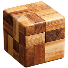 Cube of 7 - European Wood Puzzles