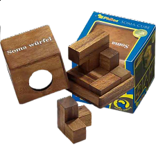 Soma Cube - Large - European Wood Puzzles