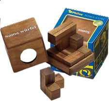 Soma Cube - Small - European Wood Puzzles