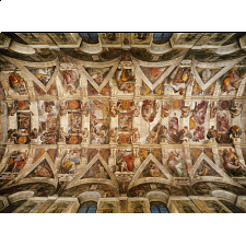 The Sistene Chapel Ceiling - Michelangelo - Search Results