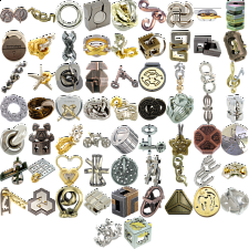 Group Special - a set of 65 Hanayama puzzles - New Items