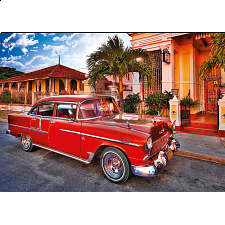 Chevrolet Bel Air Oldtimer, Kuba - Jigsaws