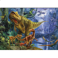 Magic 3D Puzzle: Dinosaur Valley - 1000 Pieces