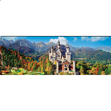 Panorama: Neuschwanstein - 1000 Pieces