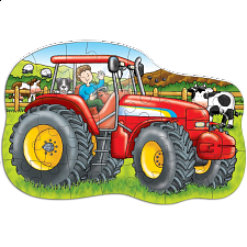 Big Tractor - Shaped Floor Puzzle - Search Results