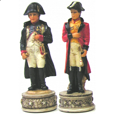 Napoleon vs. Wellington - Chess Pieces - Themed