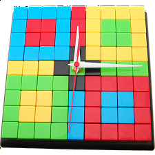 Puzzle Clock - Black - Games & Toys