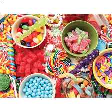 Colorluxe: Colorful Candy - Jigsaws