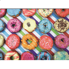 Colorluxe: Dainty Doughnuts - Jigsaws