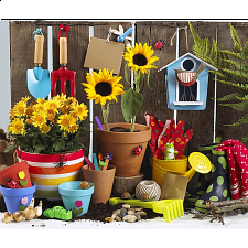 Colorluxe: Gardening Time - 500-999 Pieces
