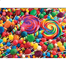 Colorluxe: Lollipop Swirls - 500-999 Pieces