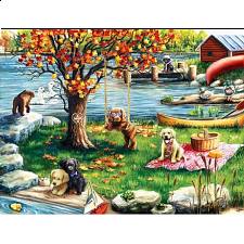 Puzzle Collector ART: First Fall - 500-999 Pieces