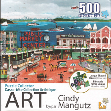 Puzzle Collector ART: Pike Place Market - 500-999 Pieces