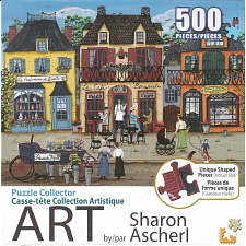 Puzzle Collector ART: A Beautiful French Day - 500-999 Pieces