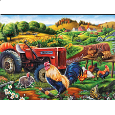 Puzzle Collector ART: On the Farm - 1000 Pieces