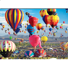 Balloons Galore: Albuquerque Hot Air Balloon Festival - 1000 Pieces