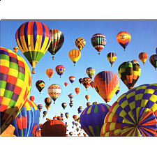 Balloons Galore: Balloon Mass Ascension, Albuquerque - 1000 Pieces