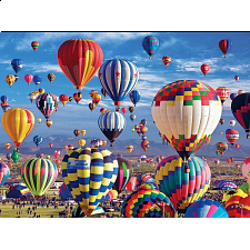 Balloons Galore: Fun in the Air, Hot Air Balloon Festival - 1000 Pieces