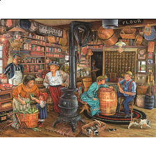 The General Store 300 pc Jigsaw Puzzle - 101-499 Pieces