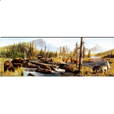 Kevin Daniels Call of the Wild 500pc Jigsaw Puzzle - Panoramics