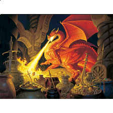 Smaug Dragon - 1000 Pieces