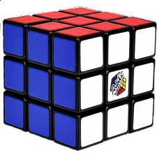 Rubik's Cube 3x3x3 - Mini Clamshell Package - Search Results