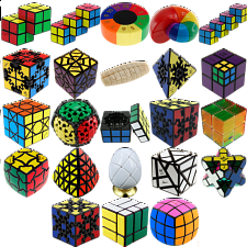 Group Special - a set of 23 Puzzle Master Rotational Puzzles - Meffert's Rotational Puzzles