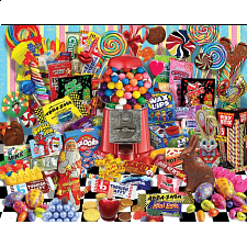 Candy For All Seasons - Jigsaws