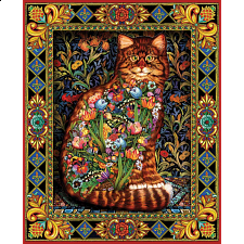 Tapestry Cat - 1000 Pieces