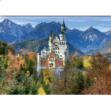 Neuschwanstein Castle - Large Piece Format - 101-499 Pieces