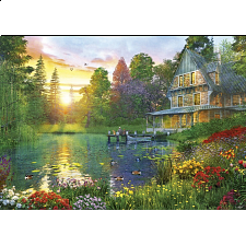 Sunset with Grandpa - Educa 300XXL Puzzle - 101-499 Pieces