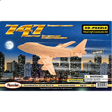 747 - 3D Wooden Puzzle - 1-100 Pieces