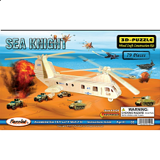 Sea Knight - 3D Wooden Puzzle - 3D Wooden Puzzles