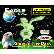 Eagle - Glow In The Dark - 3D Puzzle - Jigsaws