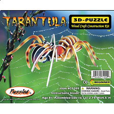 Tarantula - Illuminated 3D Wooden Puzzle - Wood Puzzles