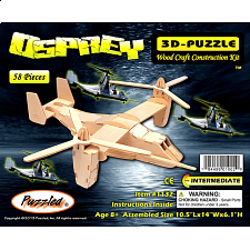 Osprey - 3D Wooden Puzzle - 1-100 Pieces