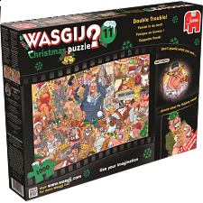 Wasgij Christmas #11: Double Trouble! - Wasgij