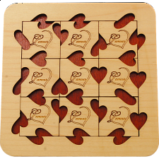 L'Amour - European Wood Puzzles