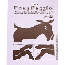 The Pony Puzzle: Purple Card - Paper Puzzles