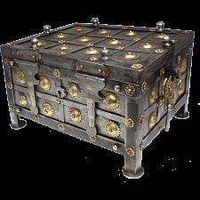 Iron Puzzle Box -