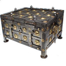 Iron Puzzle Box - Wire & Metal Puzzles