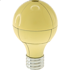 Magnetic Light Bulb Puzzle - Yellow - Other Wire / Metal Puzzles