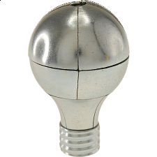 Magnetic Light Bulb Puzzle - Silver - Other Wire / Metal Puzzles