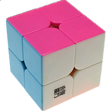 YJ GuanPo 2x2x2 - Black Body - Rubik's Cube & Others