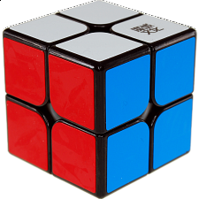 WeiPo 2x2x2 - Black Body - Rubik's Cube & Others