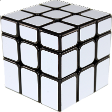Unequal 3x3x3 Cube - Black Body in White Stickers - Search Results