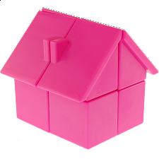 YJ House 2x2x2 - Pink Body - Other Rotational Puzzles