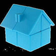 YJ House 2x2x2 - Blue Body -