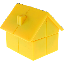 YJ House 2x2x2 - Yellow Body - Rubik's Cube & Others